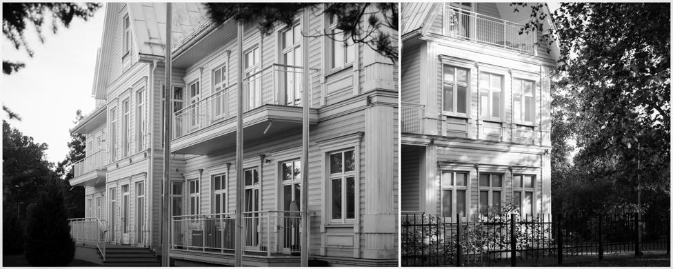 Lehe 1, Pärnu korterelamu 1